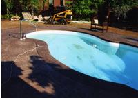 Fill pool, add chemicals and enjoy