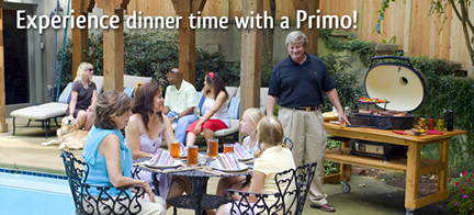 Authorized Dealer for Primo Grills